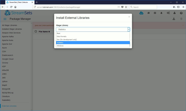 Install external libraries