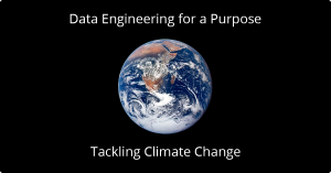 why data engineering for climate change earth picture