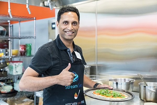 Making Pizza With The CTO - Careers At StreamSets
