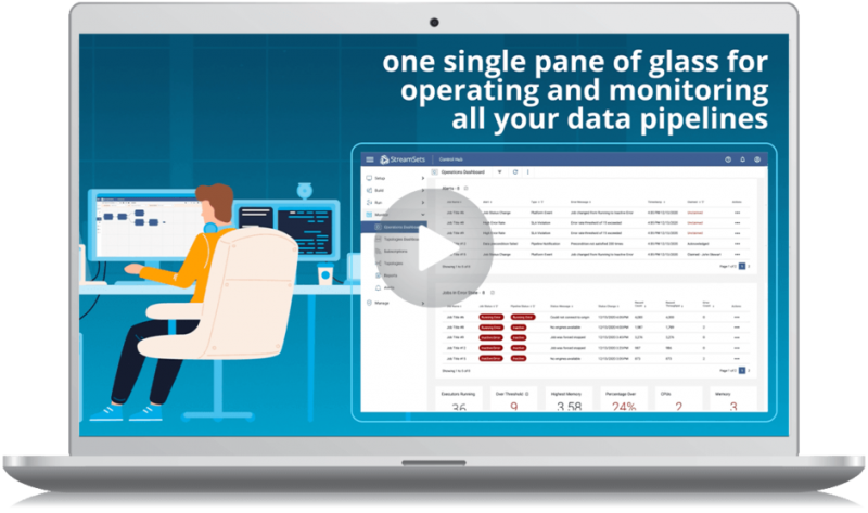 StreamSets Monitor Data Pipeline Video Screenshot