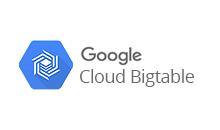 Google Cloud Bigtable Big Data Integration