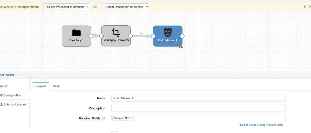 data migration to AWS workload field masker